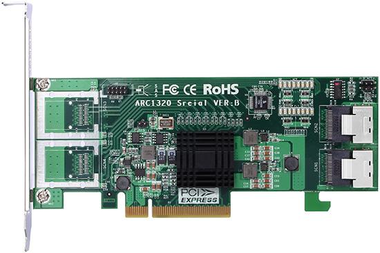 Areca Products - Non-RAID Adapters