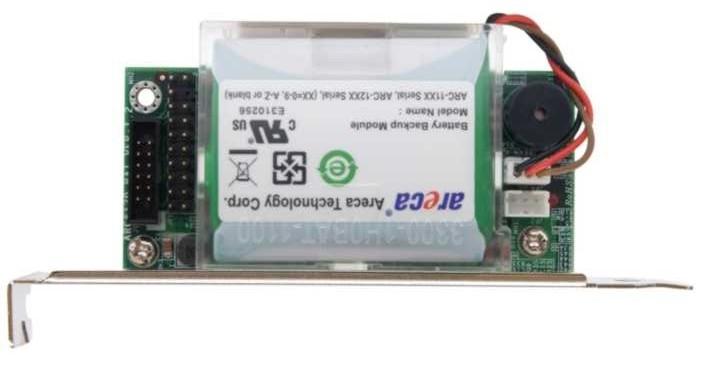 Areca ARC-6120BA-T113 Battery Backup Module for RAID Controller Short Bracket